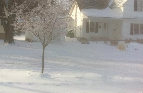 snow driveway